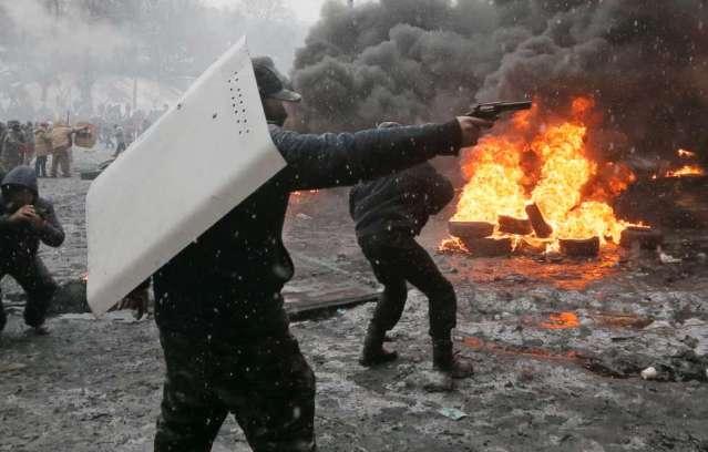 Strassenschlachten-in-Kiew