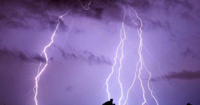 Lightning-strike-in-Germany