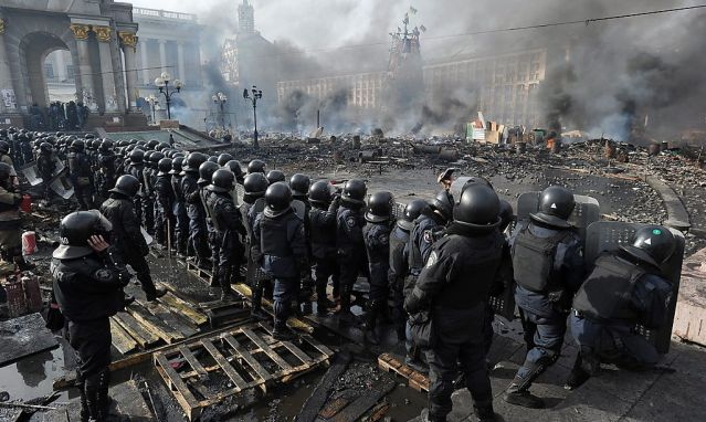 UKRAINE EU PROTESTS