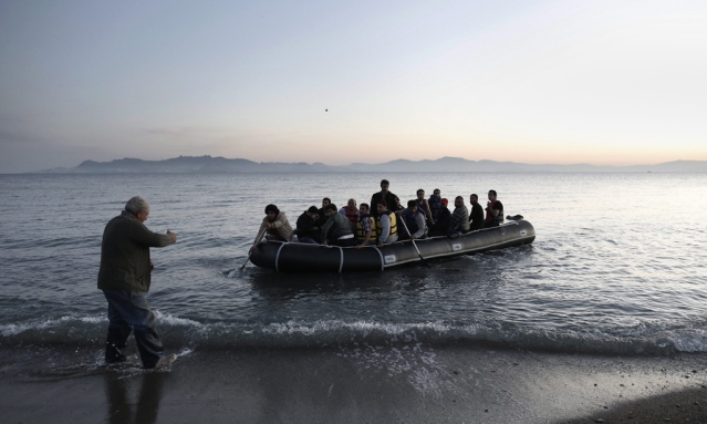 GREECE FEATURE PACKAGE KOS REFUGEES