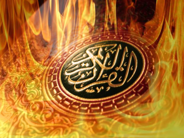 koran-feuer